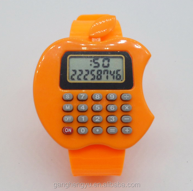 Wholesale Promotional Fashion New Style Portable Calculator Watch for Children