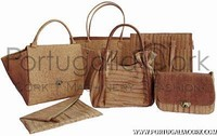 Cork handbags and acessories