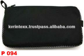 2014 zippered mesh pouch