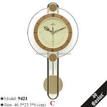 Best selling art clock flower elegent wall clock shenzhen manufacture