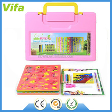 Educational and Easy to Carry Drawing Stencils Art Kit for Kids