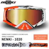 Most Professional Colorful Headband MX Goggles with TPU Frame