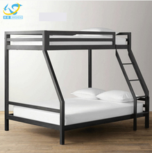 School furniture dormitory wholesale Knock Down double bed metal bunk bed replacement parts