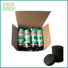 8 rolls packing shisha coal for tobacco
