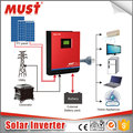 One Phase 5KVA/ 4000W 48V PWM solar panel inverter with 60A solar charger