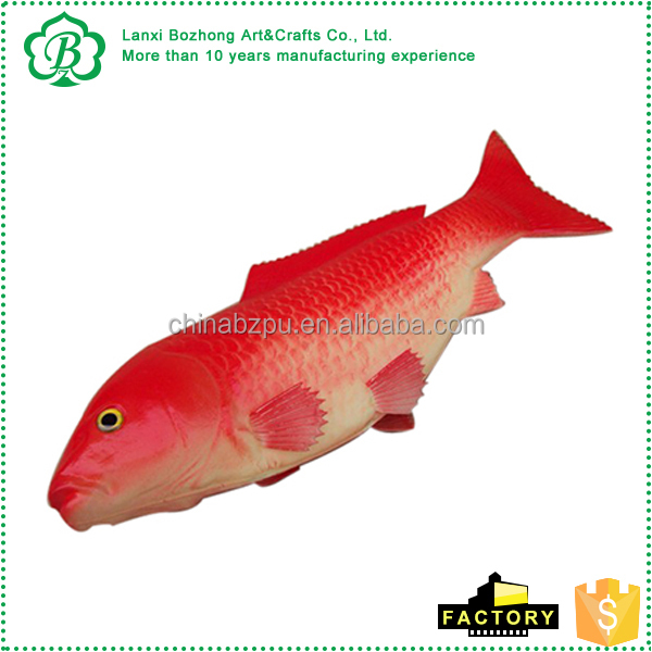 Factory Popular Cheap custom fish shaped stress balls