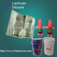 Liquid silicone rubber for mechanical parts mold making
