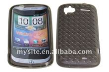 Mesh Cellular Phone TPU Case Covers For HTC Wildfire S/G8s