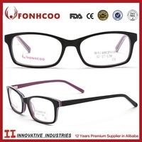 FONHCOO Import China Goods High Quality Unisex Acetate Glasses Optical Frames