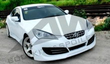 2009-2011 Hyundai Genesis(Rohens-Coupe) IXION body kits