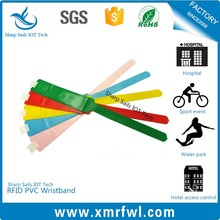 NFC Paper/PVC/Silicone Health/ Sports /Bracelet Rfid Wristband With Pp Bag 500pcs