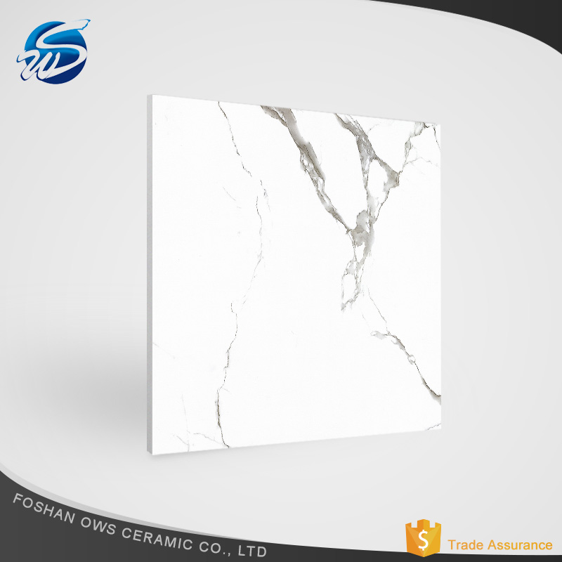 600*600mm bathroom full polished glazed porcelain ceramic floor tile