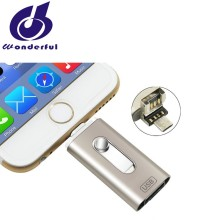 OTG usb flash drives 128gb for iPhone with customized logo