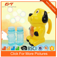 Lovely dog shape bo bubble machine toys bubble gun