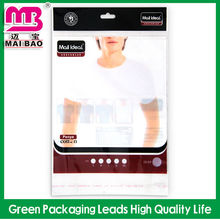high quality promotional header cards plastic bags