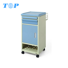 XF5056 Steel Bedside Cabinet Hospital Office Furniture Medical Patient Room Furniture Manufacturers