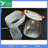 Promotional Wholesale 1-2-3 compartments collapsible electric stainless steel lunch box