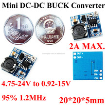 Ultra-small Aircraft model 5V 6V 7V 9V 11V to 0.92V 3.7V 5V 11V 12V 15V 2A DC DC BUCK converter FPGA DSP ARM Power supply