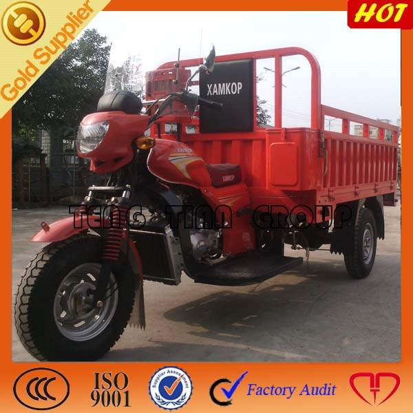 2015 gasoline 3 wheeled motorcycle for water bottles transportation