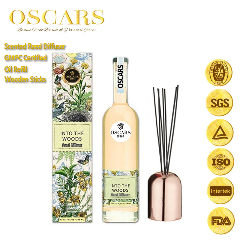 aroma diffuser Luxury Home Fragrance French Perfume Oils 3 Unique Scents Gift Box
