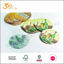High Quality Hotel Custom Disposable Paper Beer Drink coaster