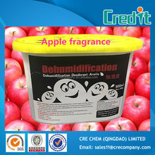 Apple fruit fragrance 500ml super dry prill desiccant in box from china