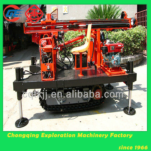 MGJ-50L crawler mounted geotechnical auger drilling machine