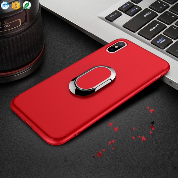 Cell Phone Case For Iphone 8 ,Newest Ring Holder Case Phone Cover For iphone X case
