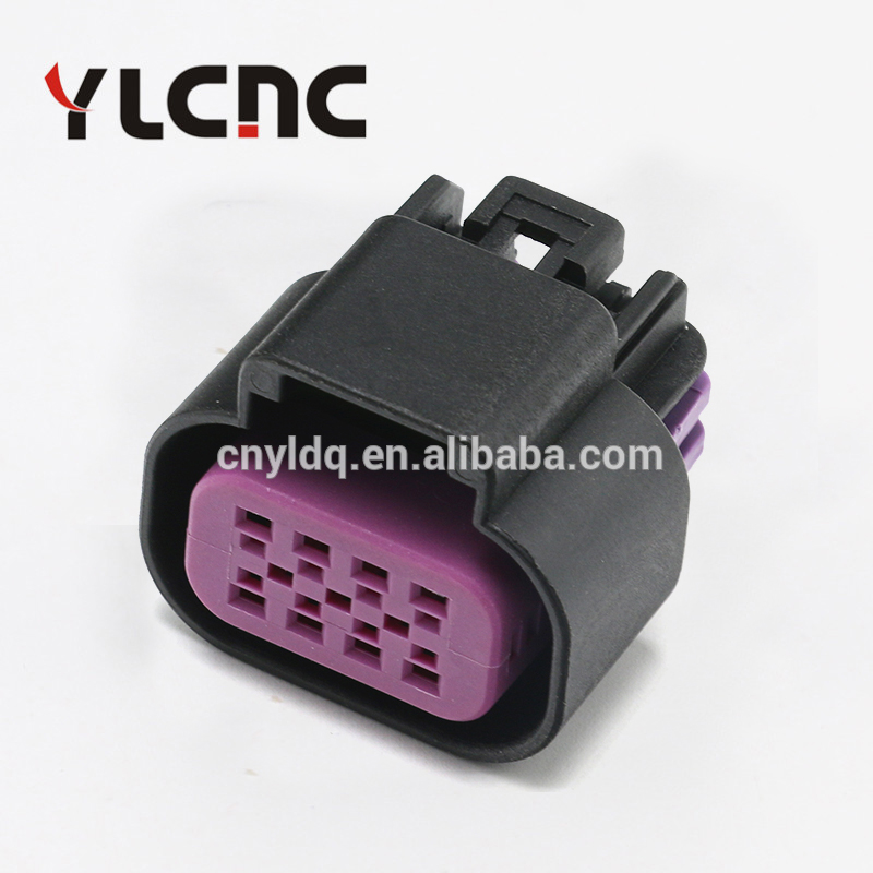 Auto connector pa66 female delphi 8 pin waterproof connector 15326835