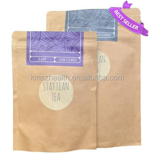 Customized Organic Natural 28 Days Supply Famous Teatox 28 Tea Bags Packing