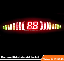 Stable performance led display customized 7 segment optoelectronic display for home application