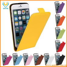Luxury Leather Vertical Magnetic Flip Phone Accessories for iPhone6 Phone Case