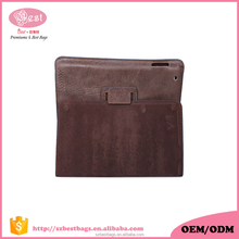 Best selling genuine leather for ipad cases and covers