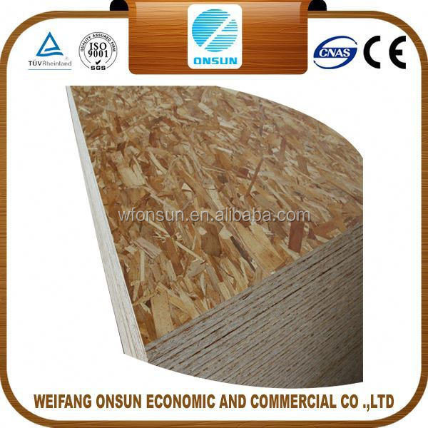 discount top quality good prices osb board 9mm from China factory
