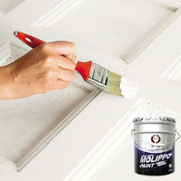 Fast-drying white pearl furniture paint