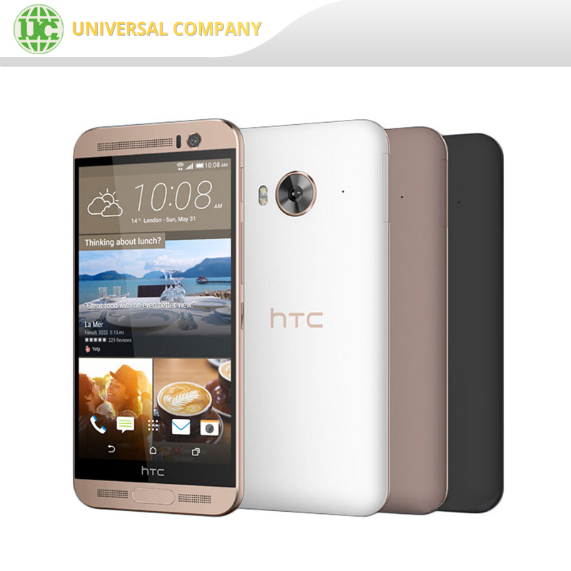 Original Andriod LTE 4G 2840mAh HTC One ME Fingerprint unlocked Smart Phone
