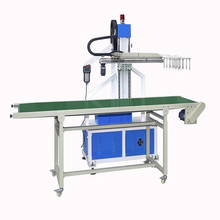 Full automatic tray thermoforming machine with robot stacker connection machine