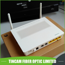 GPON ONU HG8245H with 4GE ports+2*TEL+wifi, HG8245H with 2 antennas