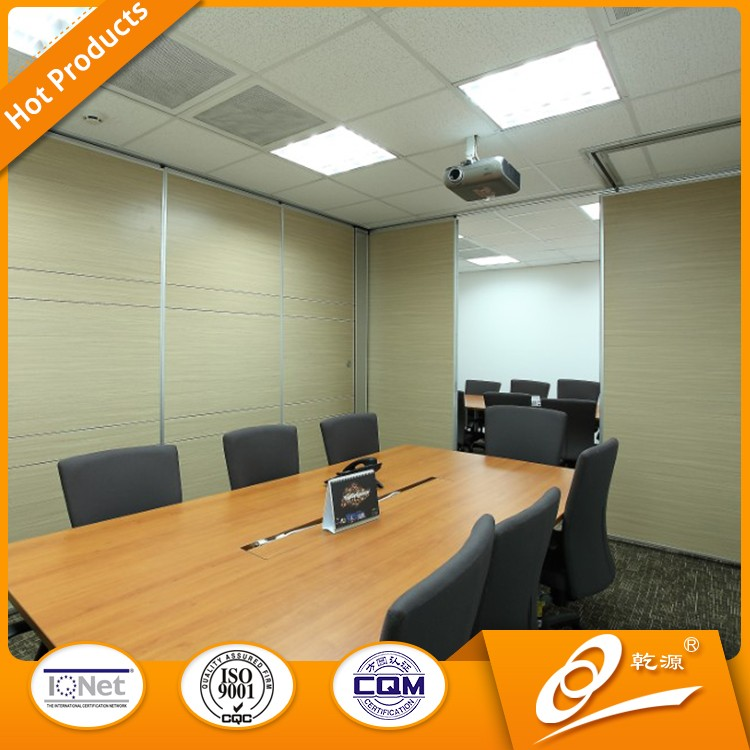 movable sound proof office partition wall