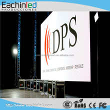 Small pixels video P3.91 indoor HD SMD full color rental hanging LED display screen