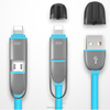 2016 Cheapest 2 in 1 USB Cable USB Multi Charger Data Cable for phone