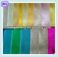 fashion metallic pu foil leathers for shoe upper and lining