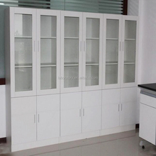 Full height laboratory chemical storage metal cabinet