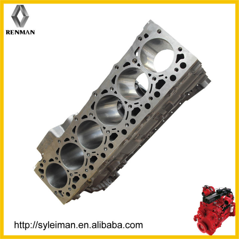 ceramic engine cylinder block marin, auto parts cylinder blocks 4990451 4955412