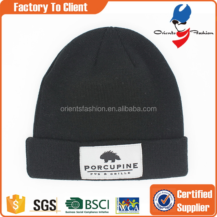 New style best selling adults knitted cap