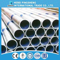 hot dipped and pre-galvanized steel pipe,in stock made in china,high quality ERW hot-dipped galvanized steel pipe
