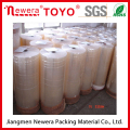 Adhesive packing tape gum tape acrylic water base Bopp jumbo rolls