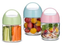 Sinoglass trade assurance 350 ml portable snack glass storage jar