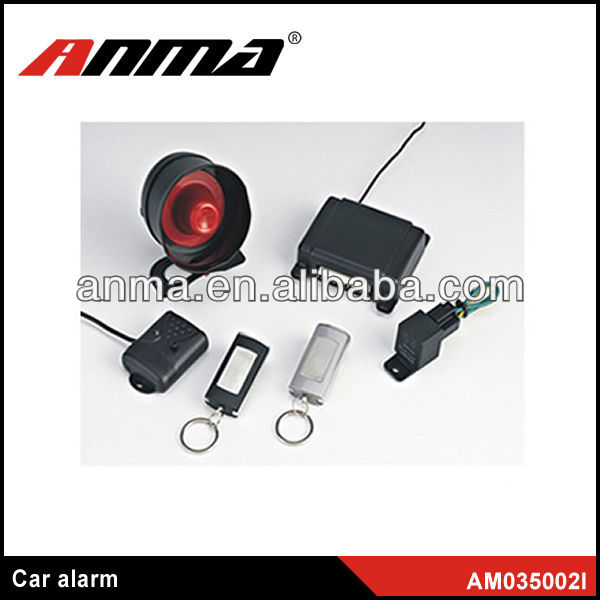 Professional factory of manual two way car alarm system car over speed alarm