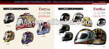 motorcycle Helmet with ECE standard DOT certificate full face half face open face